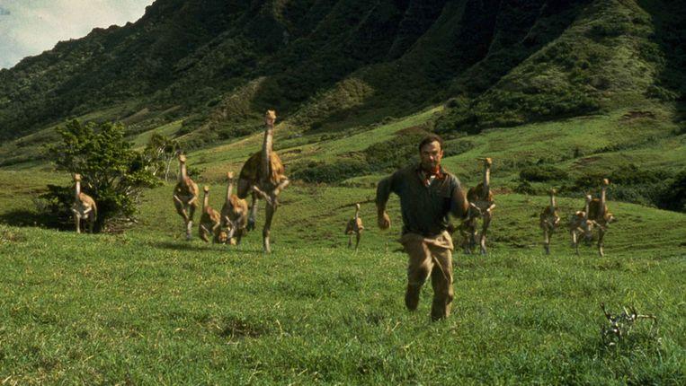 De eerste Jurassic Park-film is ondertussen al twintig jaar oud.