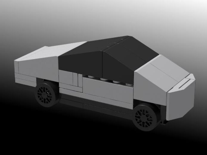 Lego-Tesla Cybertruck.