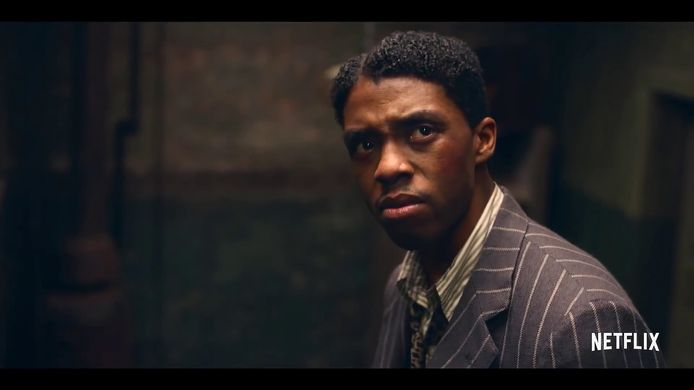 Chadwick Boseman in 'Ma Rainey's Black Bottom'.