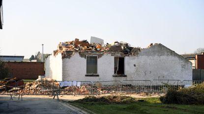 Leegstaand huis in Lubbeek ingestort
