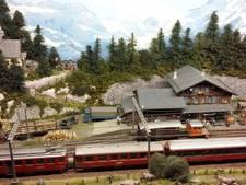 Zwitsers Madurodam van treintjes in Gennep