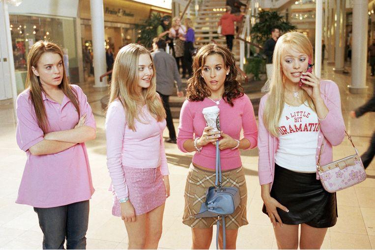 De cast van 'Mean Girls'.