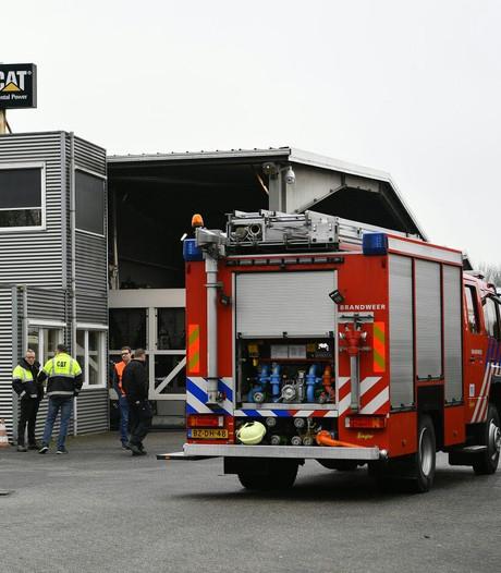 Kortstondige brand bij bedrijf in Bladel