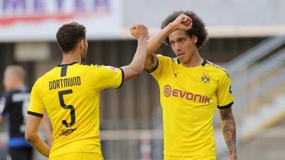 LIVE. Aftrap gegeven! Eerste basisplek voor Witsel bij Dortmund sinds herstart