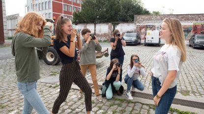 Tieners leren fotograferen op cultuurkamp