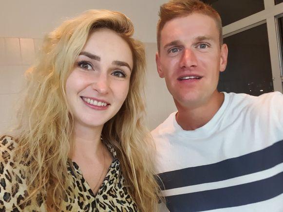Anastassia Dikikh woont met haar vriend Michael Ygodt in Sydney.