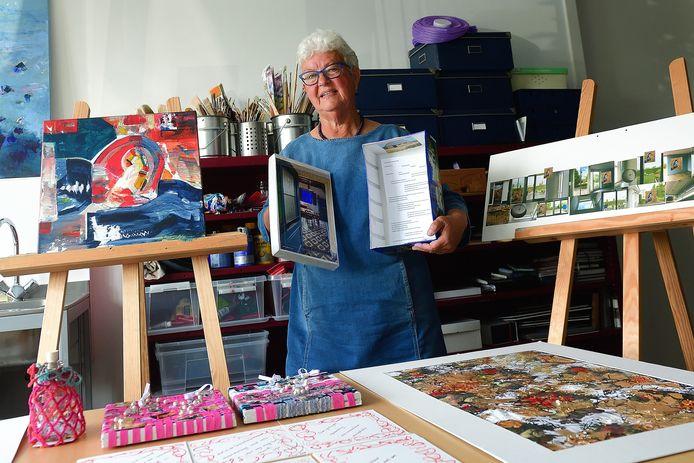 Kunstproject van CultuurCompaan Ik Vergeet Je Niet. Fiore Henken was in de eerste reeks een van de deelnemers.