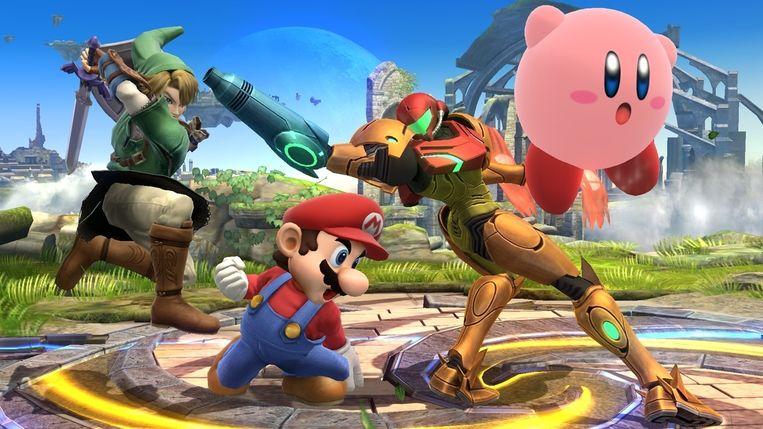 Humor en handgemeen gaan goed samen in Super Smash Bros. Beeld HAL Laboratory/Nintendo