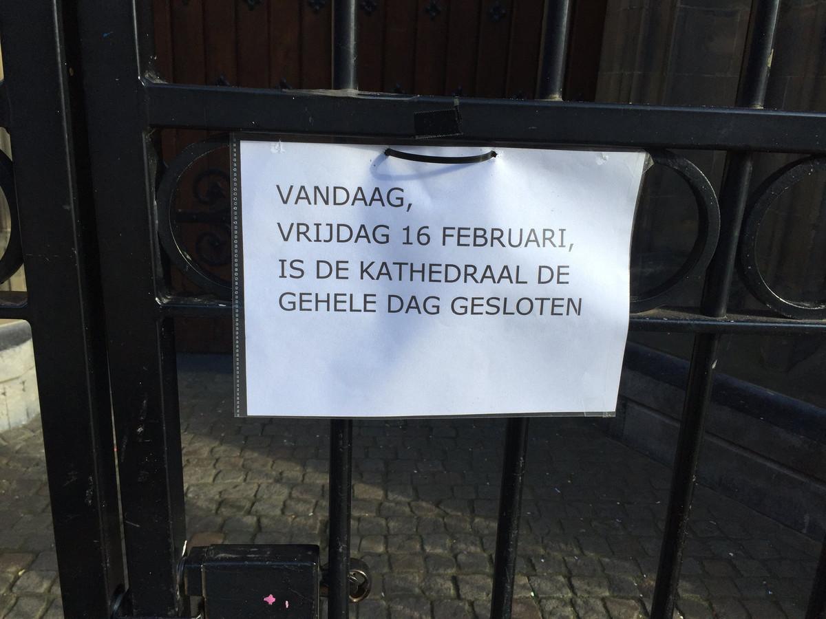 De Sint Jan is vrijdag gereserveerd.