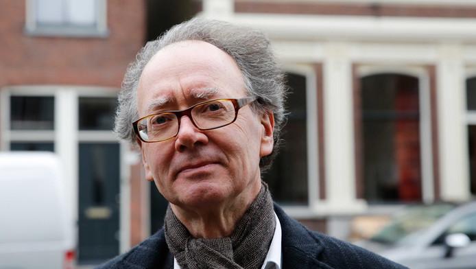 Hoogleraar Frans Grijzenhout van de universiteit van Amsterdam.
