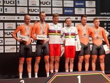 Oranje tandemrijders pakken zilver en brons op WK Paracycling in Apeldoorn