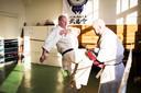 Oud-topvechter Gerard Gordeau in zijn sportschool Kamakura