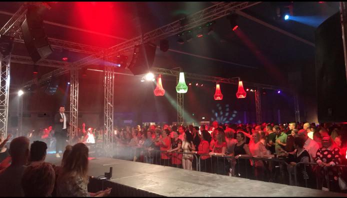 Impressie van de eerste editie van Rucphen zingt Hollands XXL in 2018.