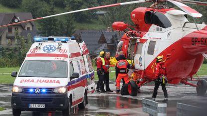 Bliksem treft toeristen en inwoners Polen en Slovakije: 5 doden, 140 gewonden, nog 9 vermisten