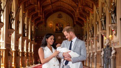Brits hof kondigt doopceremonie baby Archie aan