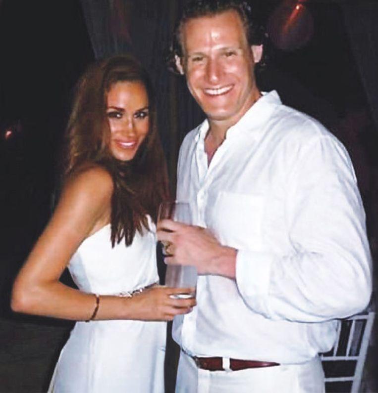 Meghan Markle met Trevor Engelson, de man met wie ze in 2011 huwde.