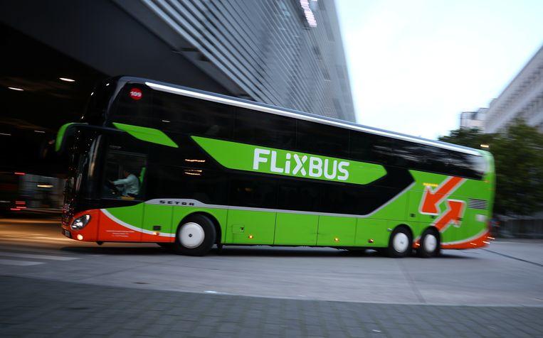 Een illustratiebeeld van een bekende FlixBus.