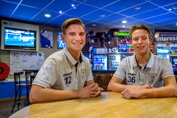 In de kantine: de DSE-broers Hendrickx