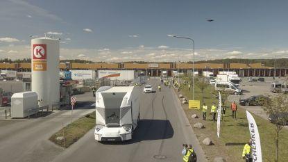 Zelfrijdende vrachtwagen op de openbare weg: Zweden heeft de primeur
