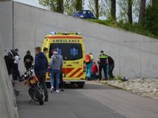 Motorcrosser (17) zwaargewond door frontale botsing tegen muur