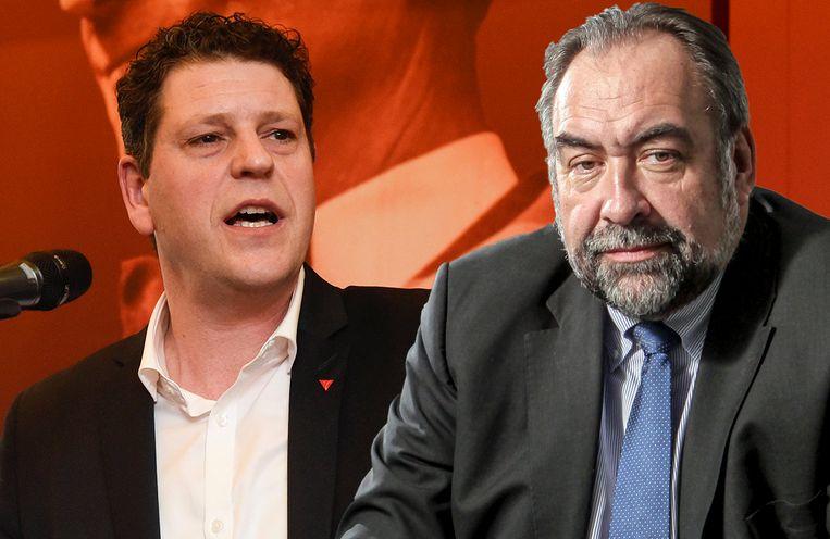 De Lijn-topman Marc Descheemaecker heeft in 'Terzake' zwaar uitgehaald naar sp.a'er Tom Meeuws.