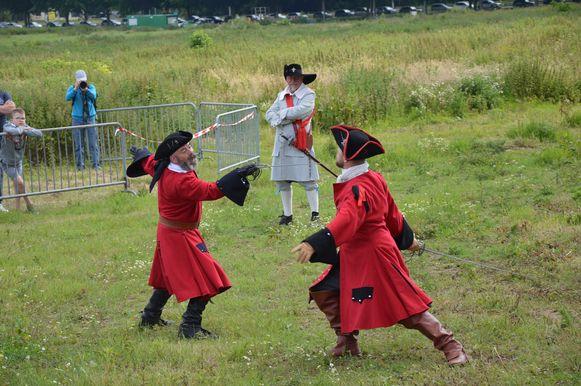 Historisch spektakel 'Ninove 1692' op Doorn Noord.