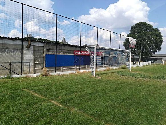 De kantine van Sporting Molenbeek.