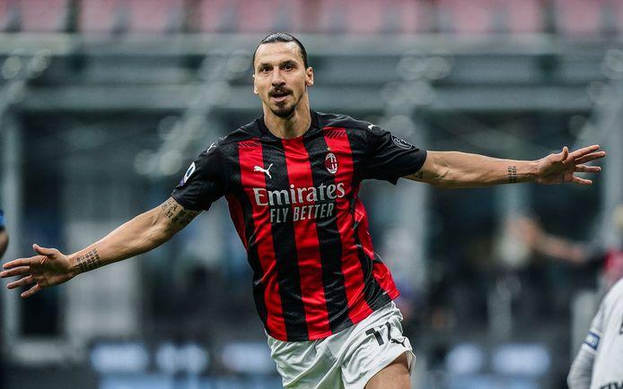 Zlatan Ibrahimovic maakte zaterdagavond weer twee goals tegen Internazionale.