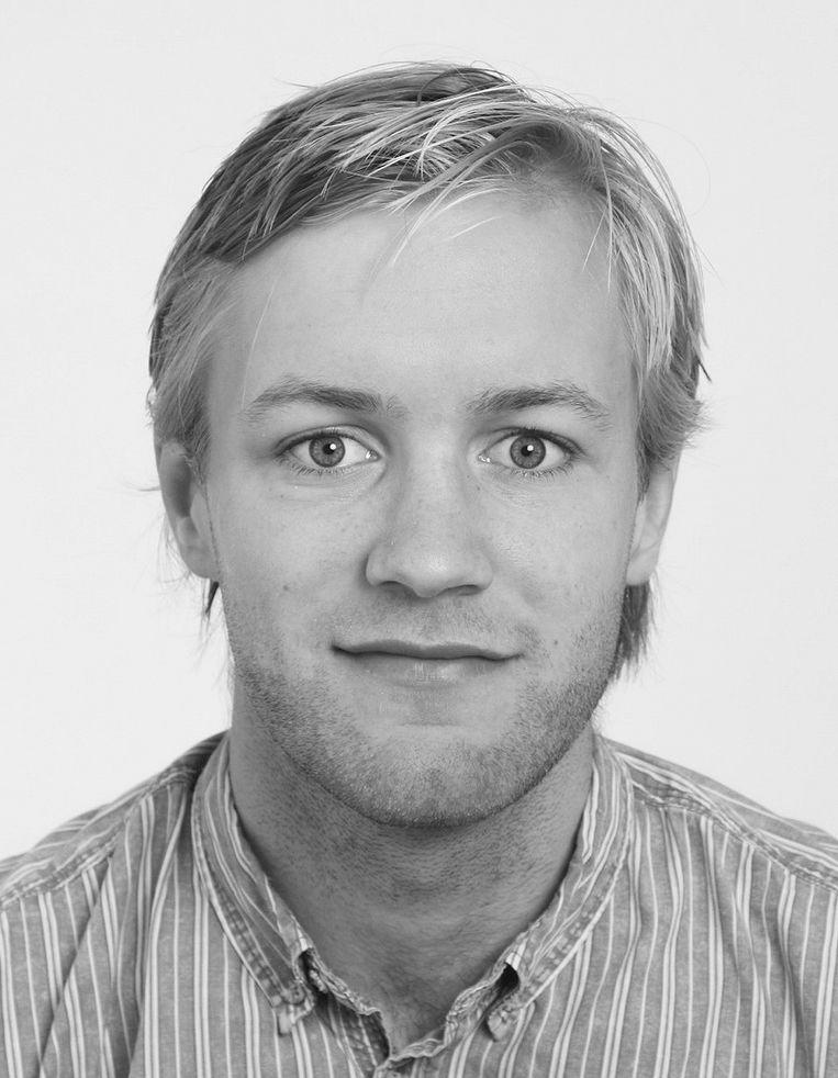 Maarten van Tunen, Historicus en masterstudent filosofie  aan de Universiteit  van Amsterdam. Beeld