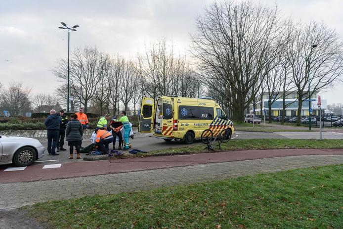 Fietser gewond bij aanrijding in Etten-Leur.