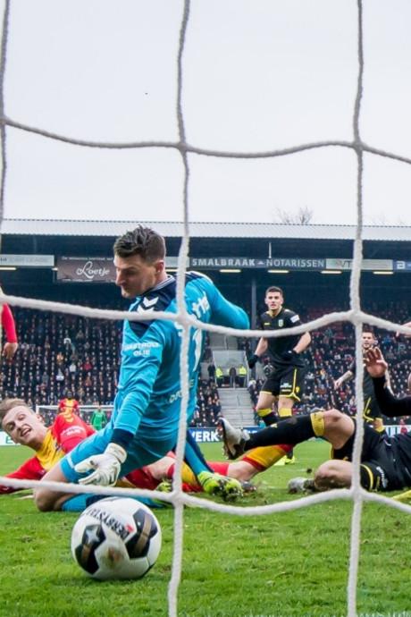 Go Ahead Eagles loopt hard in het mes van Vitesse