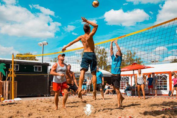 Het beachvolleytornooi is gepland op zaterdag.