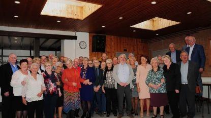 75-jarigen vieren dubbel feest