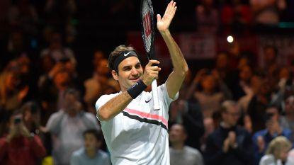 Nu ook officieel: Roger Federer zit terug op zijn troon, David Goffin blijft zevende op ATP-ranking