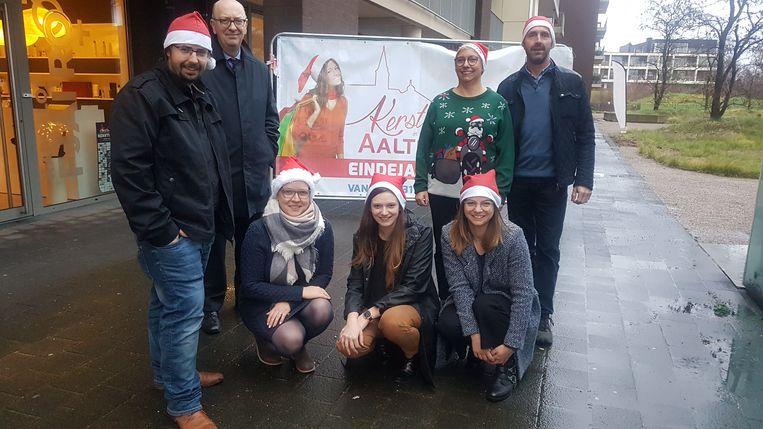 Unizo en het gemeentebestuur van Aalter slaan de handen in mekaar voor een nieuwe eindejaarsactie.