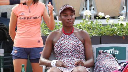 Venus Williams overleeft eerste ronde niet in Parijs - Kyrgios geeft alsnog verstek