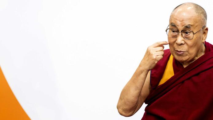 Le Dalaï Lama à Amsterdam, le 15 septembre 2018.