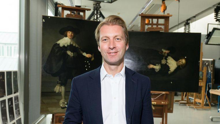 Rijksmuseum-directeur Taco Dibbits. Beeld Foto Ivo van der Bent