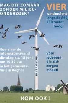 Verontruste buurt roept op om naar info-avond windmolens te komen: 'Vreemd dat er geen milieu-onderzoek nodig is'