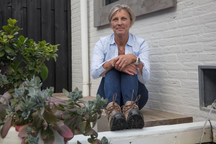 Jeanne van den Reek uit Helmond hield een sponsorloop tegen vulvakanker.