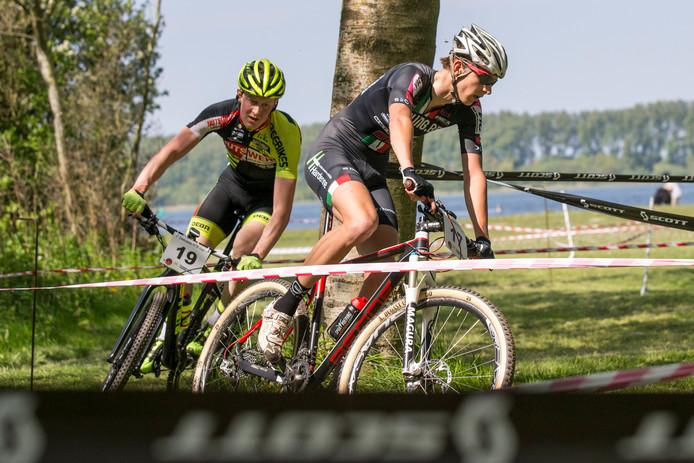 Vincent Meyvis (nummer 19) was zaterdag ook in Kruiningen de sterkste.