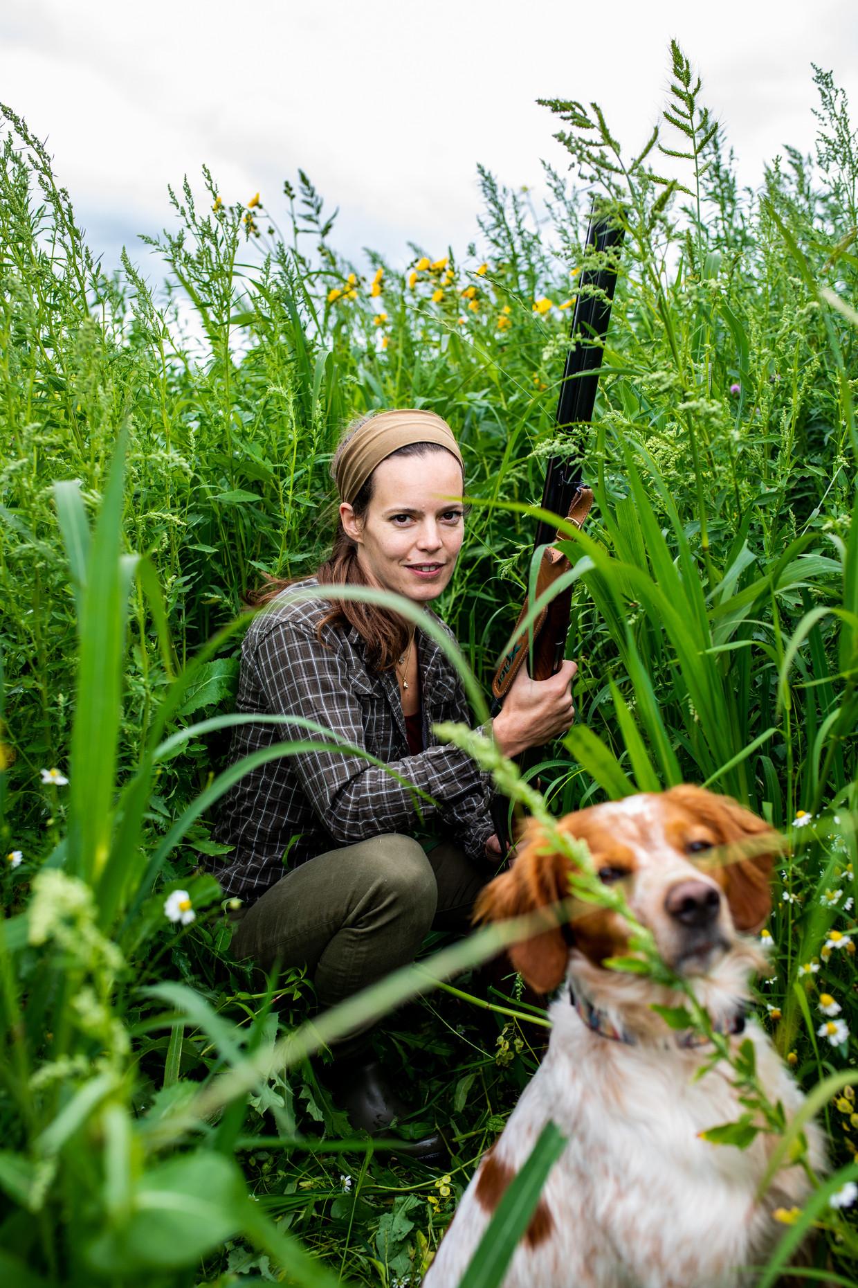 Marijke Ottema: 'Op de jachtopleiding was ik een vreemde eend in de bijt.', 29-07-2020, Broek in Waterland.