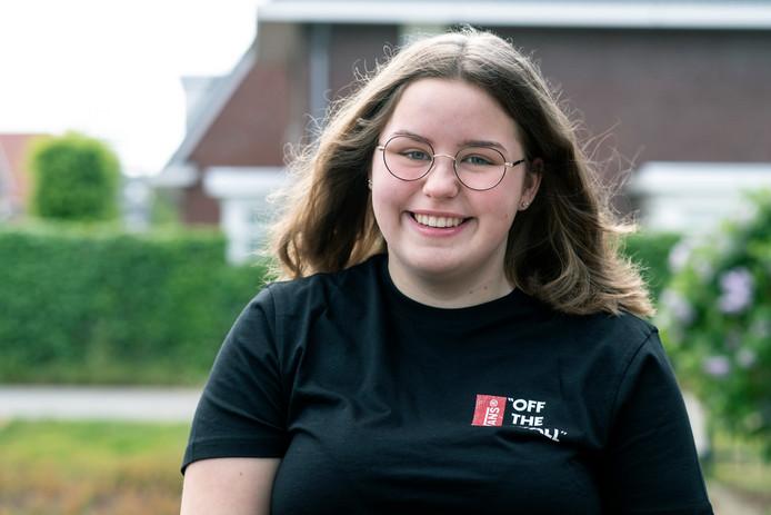 Jara Wijshake (16) uit Wijchen