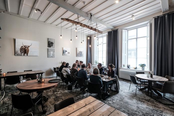 Eigenaren van Bed & Breakfast in de Liemers bijeen in restaurant Eet-Lokaal.