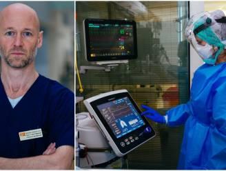 """Intensivist Geert Meyfroidt: """"Elke dag komt er een ziekenhuis aan patiënten bij"""""""