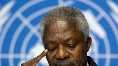 Optimist en bruggenbouwer Kofi Annan keek de laatste jaren van zijn leven somber naar de staat van de wereld