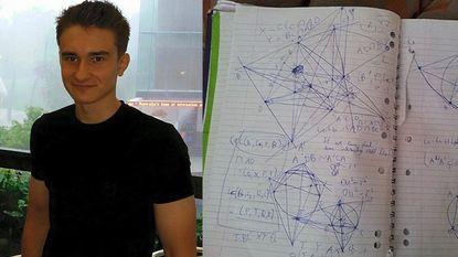 Dit 17-jarige genie ontwikkelde baanbrekende wiskundetheorie