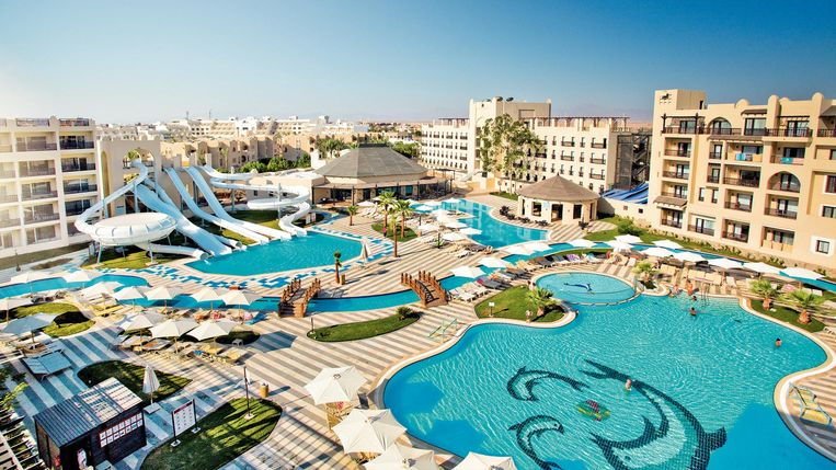 Het Steigenberger Aqua Magic Hotel in Hurghada