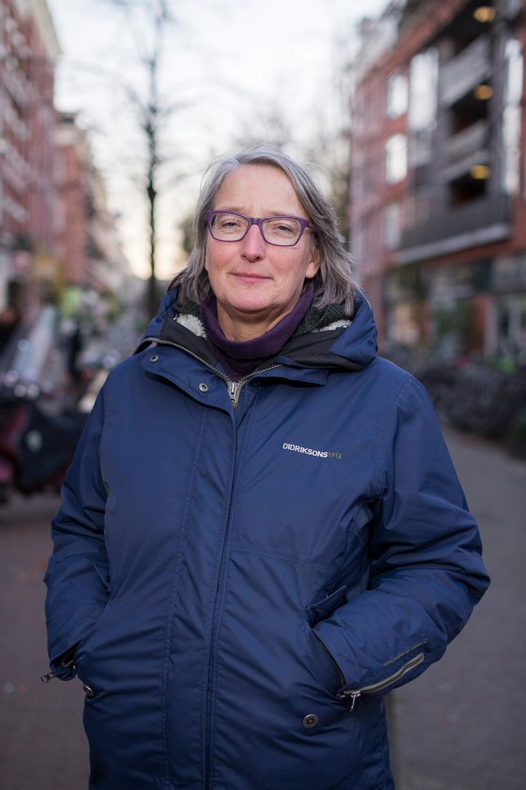 Tamara Beelen is lid van het 'vuilgroepje' Beeld Rink Hof