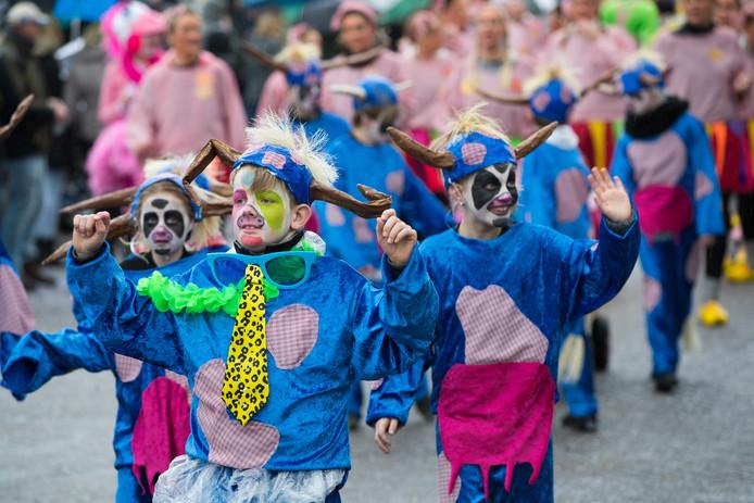 De Jozefschool Wijhe in de Sallandse carnavalsoptocht van 2019.